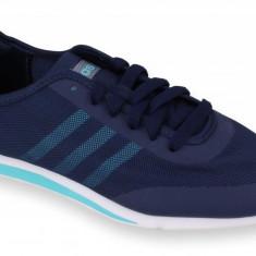 Adidasi barbati - Pantofi Sport Femei, Adidas, Stil Racer TM, Bleumarin-38