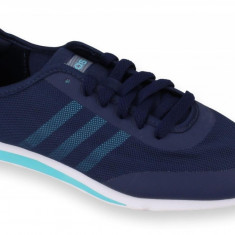 Adidasi barbati - Pantofi Sport Femei, Adidas, Stil Racer TM, Bleumarin-39 1/3