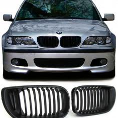 Grile negre BMW seria 3 E46 2001- 2005 (Facelift ) - Grila, 3 (E46) - [1998 - 2005]