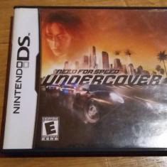 JOC NINTENDO DS NEED FOR SPEED UNDERCOVER ORIGINAL / by WADDER - Jocuri Nintendo DS Electronic Arts, Curse auto-moto, 3+, Single player
