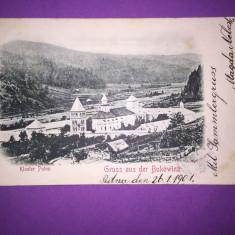 Bukowina - Manastirea Putna - Carte Postala Bucovina 1904-1918, Circulata, Fotografie