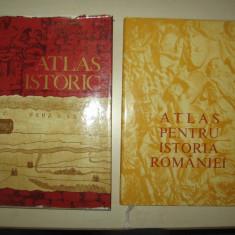 ATLAS PENTRU ISTORIA ROMANIEI +ATLAS ISTORIC