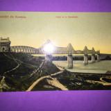 Constanta - Podul de la Cernavoda - Carte Postala Dobrogea 1904-1918, Circulata, Fotografie