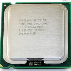 CPU Procesor PC Intel Pentium Dual Core E5400 2.70/2M/800/65W/LGA 775 Wolfdale, Numar nuclee: 1, 2.5-3.0 GHz