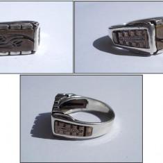 INEL vechi pt barbati, argint - Inel argint