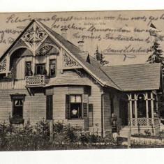 BORSEC BORSZEK VILA BOCSEMRI -BORDALIS, CIRCULAT IN 1905 - Carte Postala Transilvania pana la 1904, Circulata, Printata