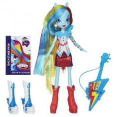 My Little Pony-Papusa Equestria Girls-Rainbow Dash cu accesorii - Jucarii plus Hasbro