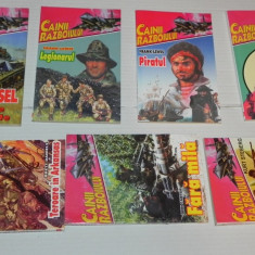LOT 7 COLECTIA CAINII RAZBOIULUI - FRANK LEWISS, BRETT DANIELS, DON CARTER - Carte de aventura