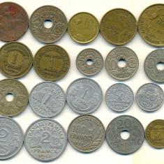 Monede Straine, Europa, An: 1996 - Franta -lot 20 buc diferite mai vechi-oferta