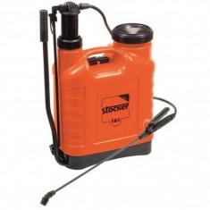 Stropitoare gradina - Pompa manuala de stropit tip rucsac Stocker - 16 litri