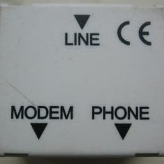 Splitter ADSL, POTS analog Annex.A, produs de LE Tehnika, Slovenia - Cablu retea