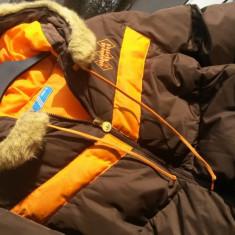 Geaca dama Adidas, Bumbac - Geaca femei ADIDAS puf pene munte ski schi nr.M originala