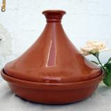 Tajine, Tagine MARE, Vas de lut pentru gatit traditional, Maroc, bucatarie