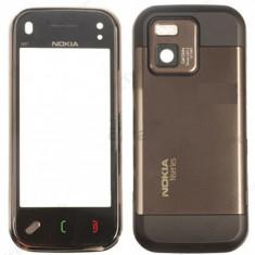 Carcasa fata touch screen digitizer mijloc spate capac baterie Nokia N97 mini