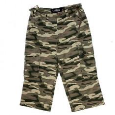 Bermude- pantaloni scurti (militari ) cu buzunare laterale - Bermude barbati, Marime: 31, Culoare: Din imagine