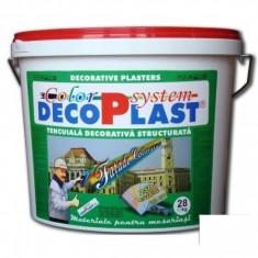 Tapet - Tencuiala decorativa zgariata DecoPlast B1 2 si 3 mm - 28 kg