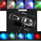 Led T10 RGB Multicolor flash W5W albastru rosu verde galben mov alb - Led auto ZDM, Universal