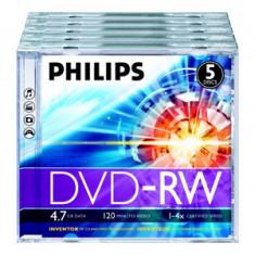 DVD Recordere - Philips DVD-RW 4.7GB Jewelcase, 4x, PHILIPS