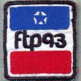 160-EMBLEMA - FTP 93 -starea care se vede