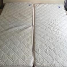 Pat dormitor - Pat dublu cu saltele