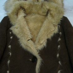 Palton dama - Cojoc piele naturala dama38-40