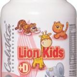 Lion Kids + D multivitamine pentru copii uşor de mestecat