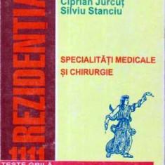 Carte Diagnostic si tratament - Specialitati medicale si chirurgie - 1111 teste grila comentate pentru rezidentiat -