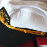Sapca marinar - Sapca Barbati, Marime: L, Culoare: Alb
