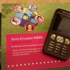 Sony Ericsson W890i - 109 lei - Telefon mobil Sony Ericsson, Negru, Nu se aplica, Neblocat, Fara procesor