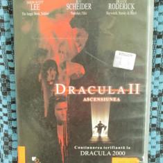 DRACULA II ASCENSIUNEA (1 DVD FILM GROAZA - SUBTITRARE in ROMANA!) - Film thriller