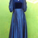 Rochie de seara - Rochie din catifea si satin
