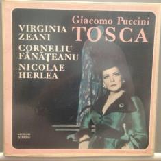 PUCCINI - TOSCA-3LP BOXSET(ECE01412;01413;01414/ELECTRECORD) -VINIL stare F.BUNA - Muzica Opera