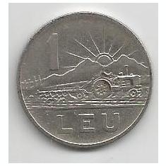 ROMANIA RPR 1 LEU 1963 [4] VF+, livrare in cartonas - Moneda Romania, Fier