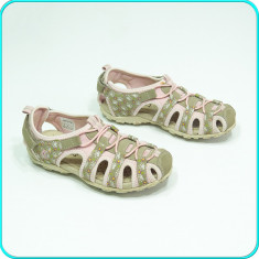DE FIRMA _ Sandale comode, aerisite, piele, calitate GEOX _ fete | nr. 32 - Sandale copii Geox, Culoare: Din imagine, Piele naturala