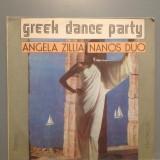 GREEK DANCE PARTY - A.ZILLIA (EDE 02788/ELECTRECORD ) - VINIL stare PERFECTA - Muzica Dance