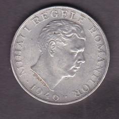 ROMANIA 1946, MIHAI I REGELE ROMANILOR MONEDA ARGINT VALOARE 100000 LEI - Moneda Romania