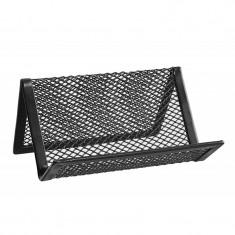 Suport carti vizita plasa metalica ErichKrause - Culoare: Negru (cod produs: CTC-EK22507) - Masina de perforat
