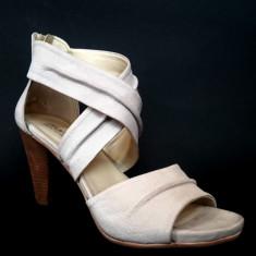 Sandale dama Lumberjack Mario din piele, Marime: 37, Culoare: Din imagine