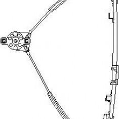 Mecanism actionare geam VW POLO 1.3 D - TOPRAN 102 887 - Macara geam