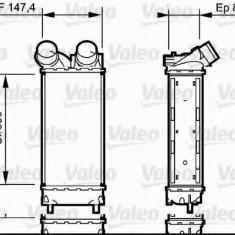 Intercooler, compresor CITROËN C4 I 1.6 HDi - VALEO 818837 - Intercooler turbo