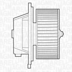 Ventilator, habitaclu FIAT PUNTO 55 1.1 - MAGNETI MARELLI 069412501010 - Motor Ventilator Incalzire