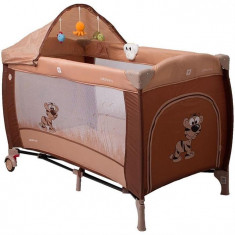 Pat Pliant Samba Lux - Coto Baby - Maro - Patut pliant bebelusi