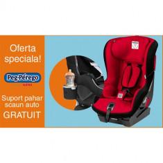Scaun Auto Viaggio1 Duo Fix K + Suport Pahar PROMO Rouge - Scaun auto bebelusi grupa 0+ (0-13 kg) Peg Perego