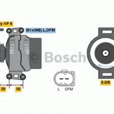 Generator / Alternator AUDI A4 1.8 T - BOSCH 0 986 046 160 - Alternator auto