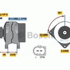 Generator / Alternator VW TOURAN 2.0 FSI - BOSCH 0 986 045 340 - Alternator auto