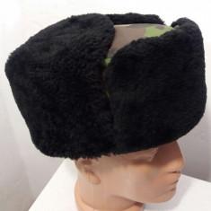 Caciula camuflaj cu urechi - Caciula Dama, Culoare: Din imagine, Marime: 58