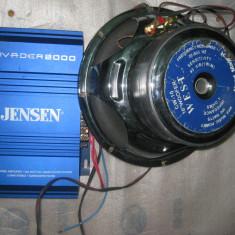 Statie amplificare auto cu subwoofer - Amplificator auto, 161-200W