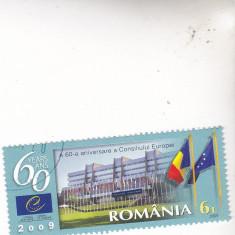 UN lot detibre st consiliu Europei, Stampilat