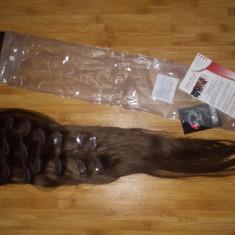 Extensii par natural clip-on full head