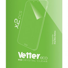 Folie protectie ecran iPad Mini Retina   2 bucati  Eco Vetter - Folie protectie tableta